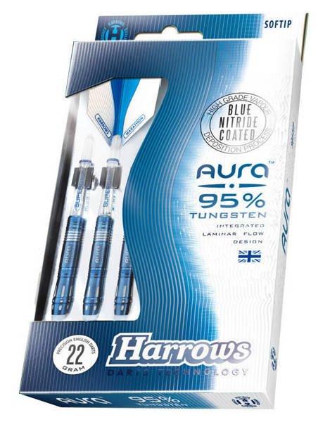 Rzutki Harrows Aura 95% Softip